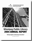 2004 Annual Report cover graphic