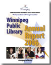 Winnipeg Public Library Annual Report 2006 graphic