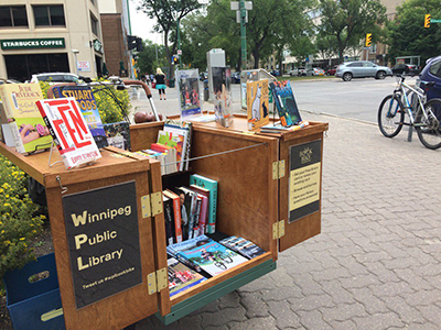 Book Bike in Winnipeg photo