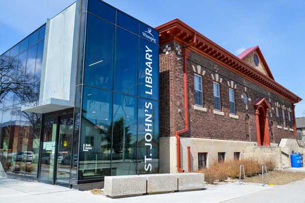 St John S Locations And Hours Winnipeg Public Library City Of Winnipeg