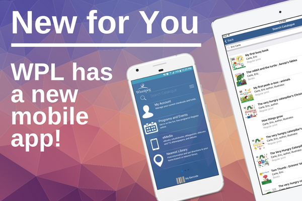 The library has a new mobile app!