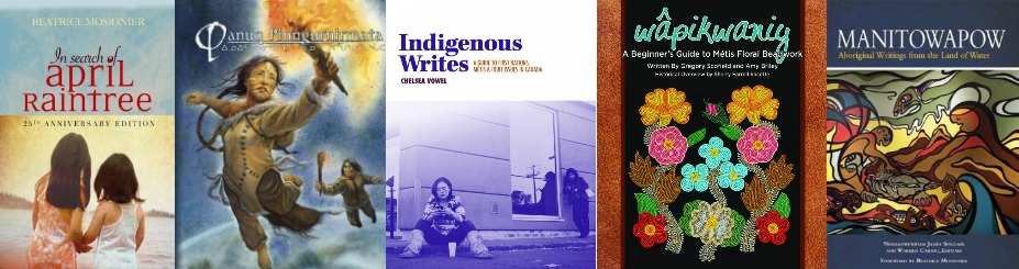Indigenous Resources Book Covers